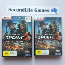 (PC DVD) SHOGUN 2: Fall Of The Samurai ~ SEGA. Boxed x3 Disc Set.