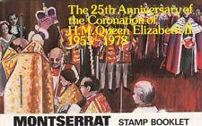 (91768) Montserrat Booklet Coronation 1978