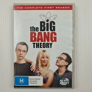 The Big Bang Theory Complete First Season 1 One - 3 DISC DVD Set - TRACKED POST