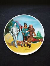 Full Set of 8 Knowles Wizard of Oz Collector Plates, No boxes, No Coa