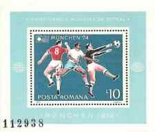 Timbre Sports Football Roumanie BF114 ** lot 13465