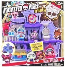 Monster High Minis High School Playset w/ Draculaura Doll Figure  New 6+  New