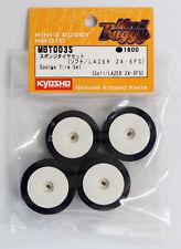 Neumático espuma con llanta - Soft (4 U.) Kyosho Miniz Buggy Lazer / MP9 MBT003S