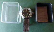 Fossil hau Limited Edition le 1002 nº 4801/5000 ungetragen org. pulsera de cuero rar