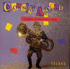 NEW CLOWNING AROUND - LONDON BRASS CD 1990 Teldec Sealed