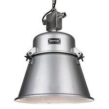 Alte polnische Industrielampe - komplett renoviert