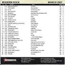 RockAmerica Modern Rock March 2007 -ETV DVD