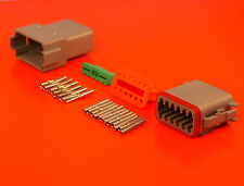 Deutsch DT Series 12 Way Pin Connector Male & Female Kit DT04-12PA DT06-12SA