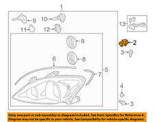 TOYOTA OEM Headlight Head Light Lamp-Headlamp Assembly Mount Bracket 5327144010