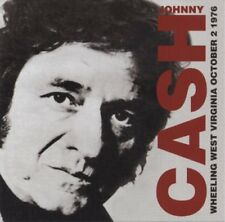 Johnny Cash   Wheeling West Virginia October 2nd 1976 Live  Brand new and sealed