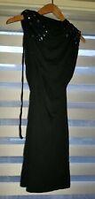 Drama Queen Little Black Hooded  Dress Size UK 8