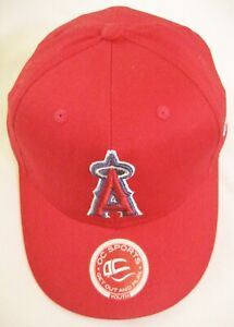 Los Angeles Angels Anaheim California MLB Baseball OC Sports Red Youth Cap