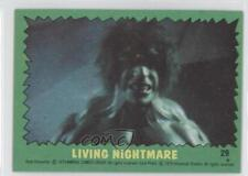1979 Topps The Incredible Hulk #29 Living Nightmare Non-Sports Card 0a3