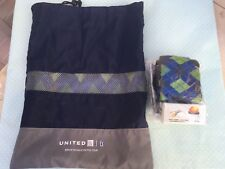 United Business Class Polaris Travel Golf Amenity Kit Unused Contents & Bag