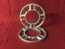 Trailer 8mm Wheel Spacers one pair 5 stud and 4 stud