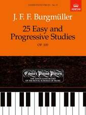 ABRSM EPP No 19 25 Easy and Progressive Studies Op.100 by Burgmüller *10% Disc*