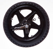 """Front 16"""" WHEEL 3 WHEELER BIKE TRICYCLE TRIKE Includes Crank Arms in BLACK NEW"""