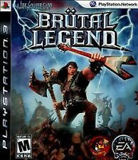 Brutal Legend, (PS3) Sony PlayStation 3 Game Mint Condition FREE SHIPPING