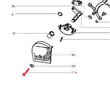 Vespa Smallframe Selector Box Cover Screw V50-PV/ET3/PK50-125XL