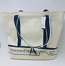 "Vineyard Vines Target Whale Line Beach Bag Tote CREAM NWT ""IN HAND"" FREESHIPPING"
