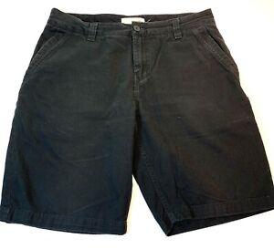 Burton Black Chino Shorts Mens Size 32