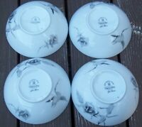 SET OF 6 ROSENTHAL CONTINENTAL JET ROSE  FRUIT / SAUCE / DESSERT  BOWLS