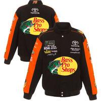 2018 Martin Truex Jr JH Design Bass Pro Shops Full-Snap Cotton Uniform Jacket