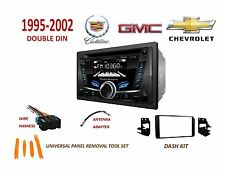 1995-2002 GM FULL SIZE TRUCK SUV BLUETOOTH CD USB AUX 2 DIN CAR STEREO KIT