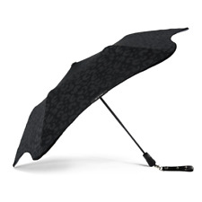 Blunt + Stolen Girlfriends Club Metro Black on Black Leopard Umbrella