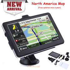 """7"""" GPS Navigation for Car Truck Coach Sat Nav With Newest Map Free Update Travel"""