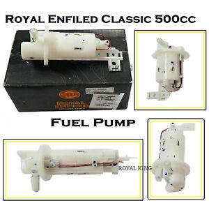 """Véritable Royal Enfield BS4 Classique 500 cc """" Carburant Pompe """" D Modèle"""