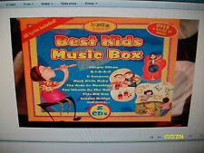 8 CD SET KIDS MUSIC BOX WITH LYRICS BRAND NEW AND SEALED