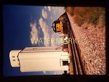 WS19 ORIGINAL TRAIN SLIDE WB Rail IA 1990