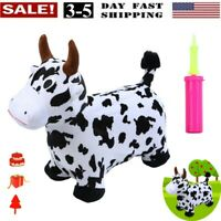 Bouncy Dairy Cow Hopper For Toddlers-Hopping/Bouncing/Bounce Horse, Jumping Hors