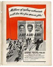 A boy a girl and a bike - DVD 1949