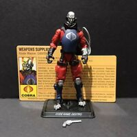 G.I. Joe 25th Cobra Destro Weapons Supplier Comic Pack Figure V22 Complete