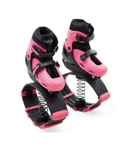 Bouncy Jumping Moon Shoes for Kids with Adjustable Straps and Buckles