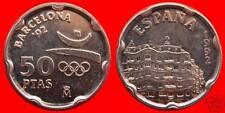 manueduc  ESPAÑA  50 pesetas  BARCELONA 92  ESPAÑA LA LA PEDRERA 1992