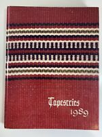 1989 Tapestries Saudi Arabian International School Riyadh American Yearbook -B