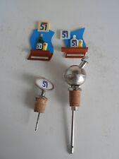 2 doseurs pastis 51 et 2 magnets pastis 51 / no ricard