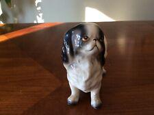 Vintage Ucagco Ceramic Spaniel Pekingese Dog Japan Great Condition