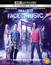 Bill & Ted Face The Music 4k Ultra HD Blu-ray With Slipcover and
