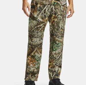 Under Armour Mens Mid Season Kit Realtree Pants Camo Hunting Sz L NEW $160