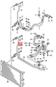 Genuine VW AUDI SKODA Passat 4Motion Variant Oil Pressure Line 8D0317823B