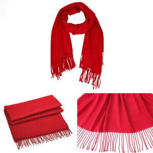 Mens Classic Tassel Autumn Winter Warm Soft Neck Long Scarf Stole Wrap Shawl