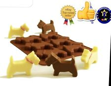 Dog Puppy Chocolate Silicone Mould Gumpaste  Fondant Polymer Silicon Cake Mold