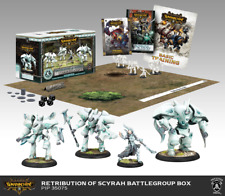 Warmachine RETRIBUTION OF SCYRAH BATTLEGROUP STARTER SET Privateer Press Hordes