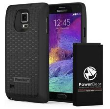 POWERBEAR Note 4 7500mAh Extended Battery Samsung Galaxy Black
