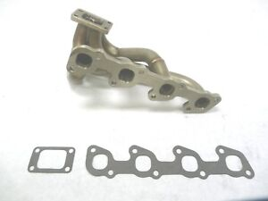 OBX Header For 1974-1993 Volvo 240 740 940 2.3L 2.4L Stainless Steel