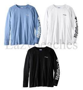 Columbia Sportswear Men's Terminal Tackle Shirts, Sizes S-3XL, UPF 50, Quick Dri
